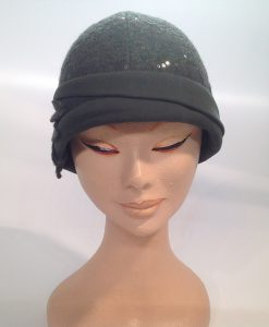Jersey Cooked Cloche with Applications and End Fleece - frontal view