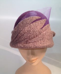 Jersey Cooked Cloche with Applications and Crinoline